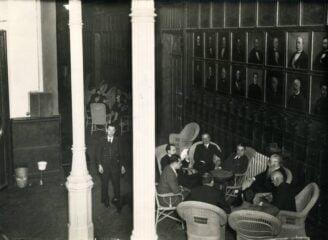 Ateneo de Madrid Salon de lectura